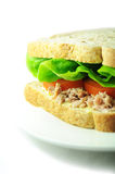 Sandwich à thon image stock