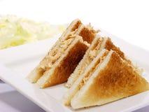 Sandwich à thon Photo libre de droits