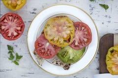 Sandwich à tomate Photo libre de droits