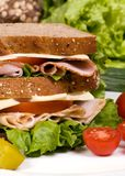 Sandwich 009 à épicerie Photographie stock libre de droits