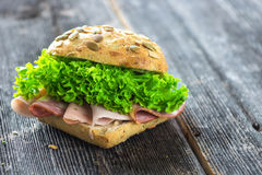 sandwich Lizenzfreies Stockfoto