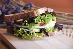 Sandwich Royalty-vrije Stock Foto