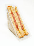 Sandwich in airtight packing Stock Photography