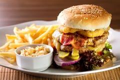 Hamburger Photo libre de droits