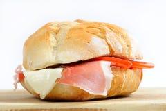 Sandwich angefüllt lizenzfreie stockfotos