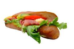 Sandwich angle Stock Image