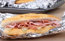 Sandwich au jambon Photo libre de droits