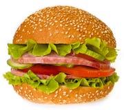 Sandwich au jambon Image libre de droits