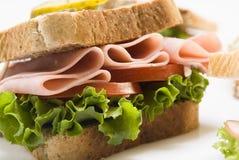 Sandwich au jambon Photos libres de droits