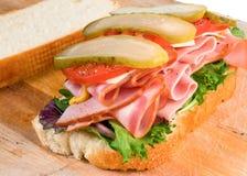 sandwich au jambon Image stock