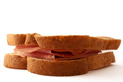 Sandwich au jambon savoureux Photo stock