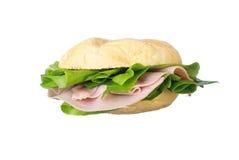 sandwich au jambon savoureux Photo libre de droits