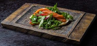 Sandwich avec des saumons Photos libres de droits
