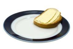 Sandwich avec du beurre Photographie stock libre de droits