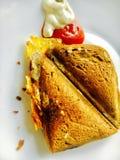 Sandwich avec du pain rare Image libre de droits