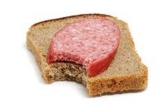 Sandwich avec le dégagement images libres de droits