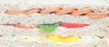sandwich background Stock Photography