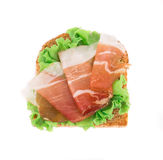 Sandwich with bacon Stock Image