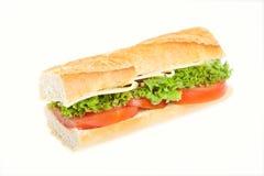 Sandwich baguette Stock Images