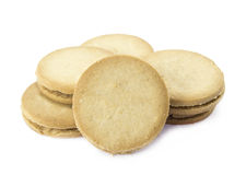 Sandwich biscuits Royalty Free Stock Photos