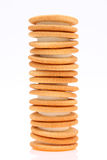 Sandwich biscuits Royalty Free Stock Image