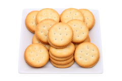 Sandwich biscuits Stock Photos