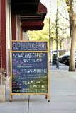 Sandwich Board Stock Images