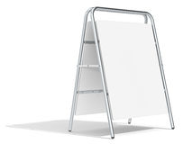 Sandwich Board. Royalty Free Stock Photo