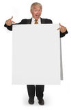 Sandwich board CEO Stock Photos