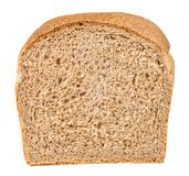 Sandwich bread. Whole wheat sandwich bread isolated on white with clipping path Royalty Free Stock Photo