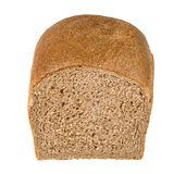 Sandwich bread. Whole wheat sandwich bread isolated on white with clipping path royalty free stock images
