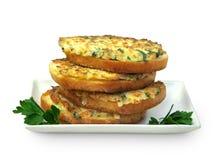 Sandwich caldi con le cipolle Immagine Stock