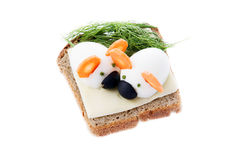 Sandwich for children Stock Photos