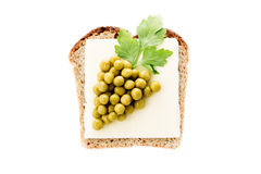 Sandwich for children Royalty Free Stock Photo