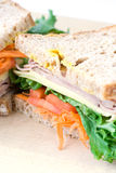 Sandwich close up Royalty Free Stock Images