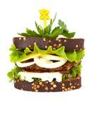 Sandwich close-up Royalty Free Stock Photos