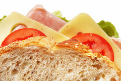 Sandwich Closeup Stock Photos