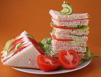 Sandwich club Royalty Free Stock Photo