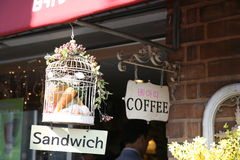 Sandwich Coffee Stock Images