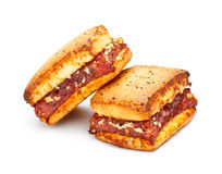 Sandwich Cookies Royalty Free Stock Photography