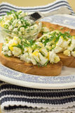 Sandwich with cottage cheese Stock Photo