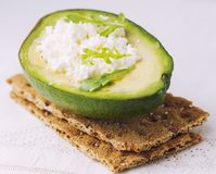 Sandwich of crispy bread Stock Photos
