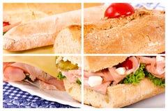 Sandwich cut Stock Photos