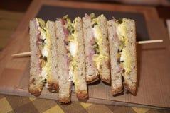 Sandwich de la Turquie et au fromage photo libre de droits