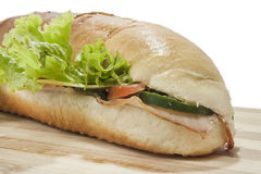 Sandwich in deep depth of field Stock Images