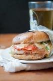 Sandwich des Huhnblt Stockbilder
