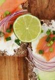 Sandwich-Detail Stockbild