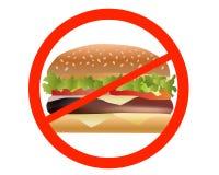 Sandwich di divieto Fotografie Stock