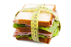 Sandwich of diet Royalty Free Stock Image