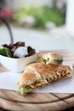 Sandwich egg and avocado Royalty Free Stock Photos